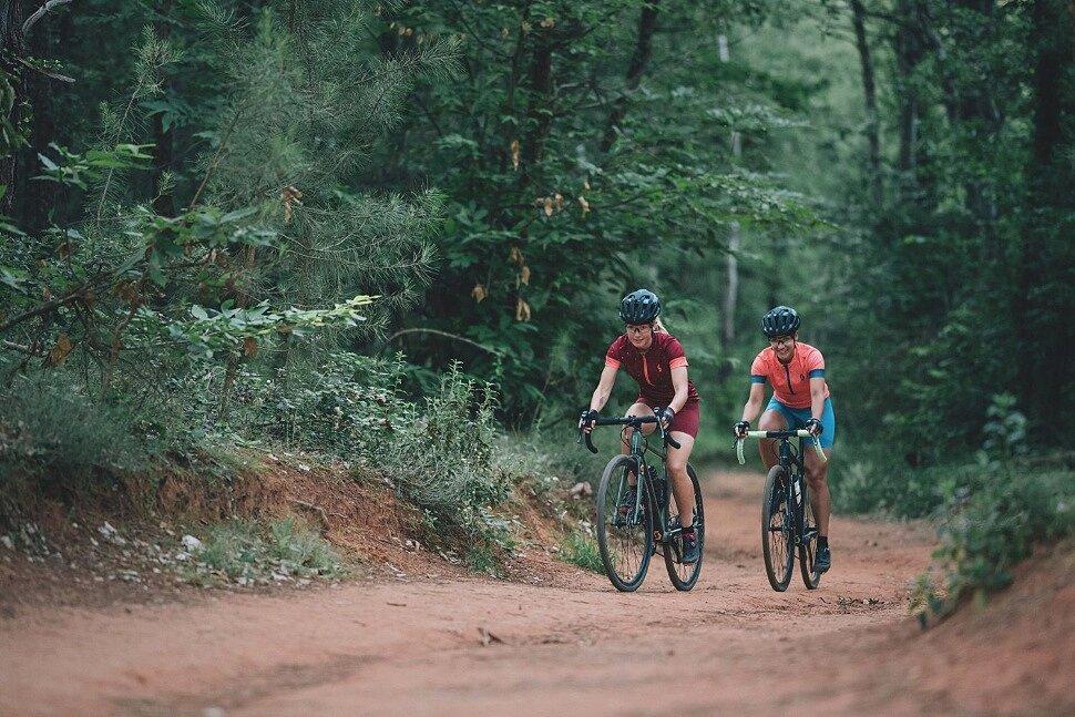 Выбор передачи на гравийном велосипеде