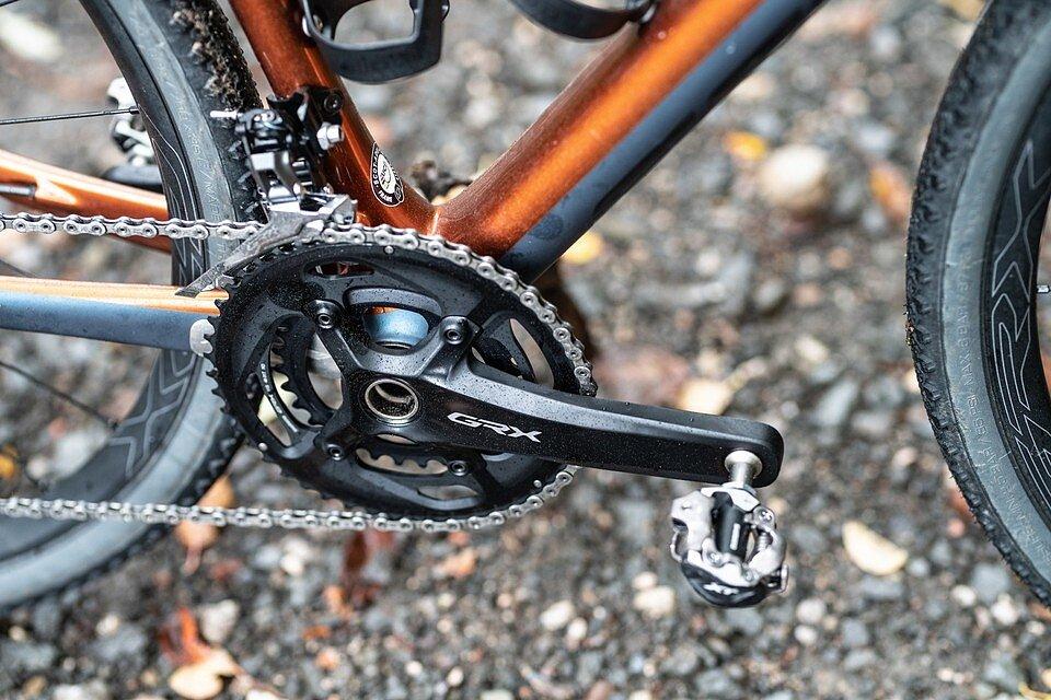1х или 2х на гравийном велосипеде