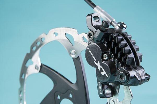 Shimano Deore XT M8020 тормоза.