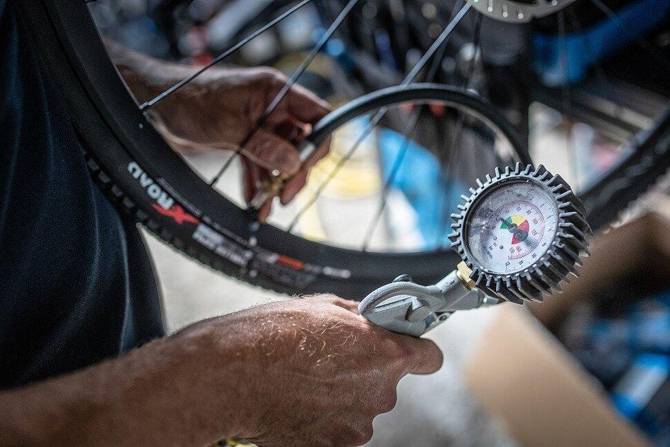 Давление в покрышках на гравийном велосипеде