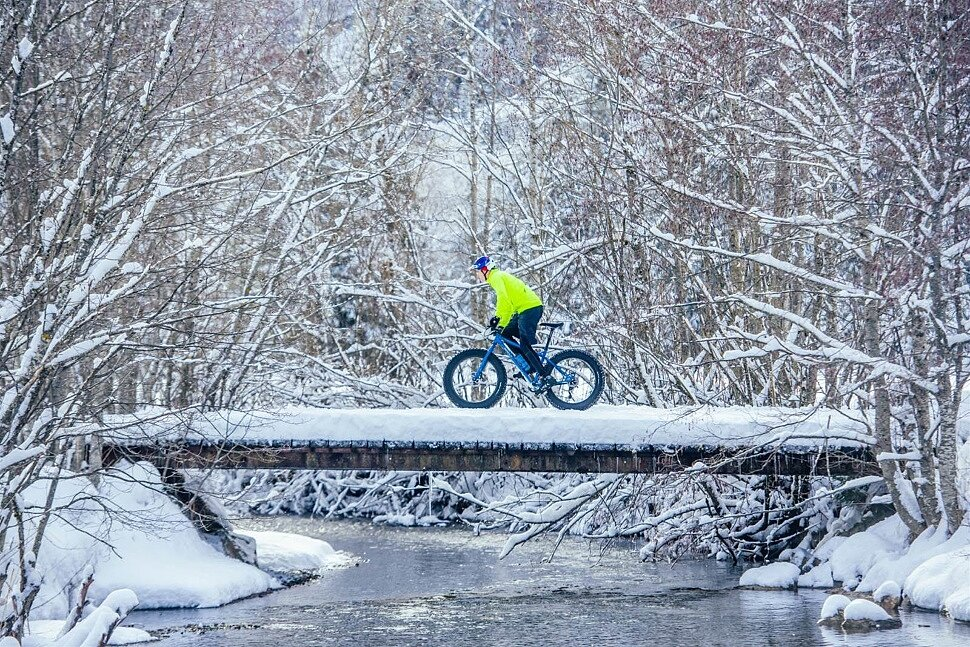 Как правильно одеваться для катания зимой на велосипеде
