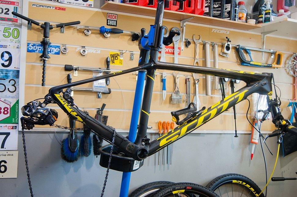 ТО велосипеда Scott Scale RC 700
